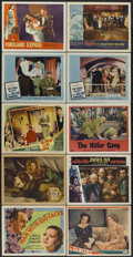 "Movie Posters:Crime, Man With 100 Faces Lot (Gaumont, 1938). Lobby Cards (23) (11"" X14""). Crime.... (Total: 23 Items)"