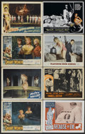 "Movie Posters:Crime, Swamp Women Lot (Woolner Brothers, 1956). Lobby Cards (16) (11"" X 14""). Crime.... (Total: 16 Items)"