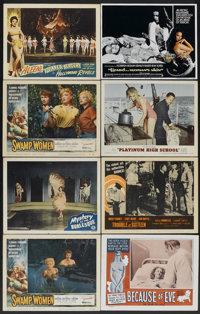 "Swamp Women Lot (Woolner Brothers, 1956). Lobby Cards (16) (11"" X 14""). Crime.... (Total: 16 Items)"