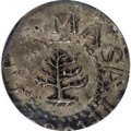 Colonials, 1652 3PENCE Pine Tree Threepence MS61 NGC....