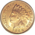 Indian Cents, 1888 1C MS67 Red PCGS....