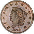 Proof Large Cents, 1829 1C PR64 Red and Brown PCGS....