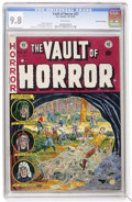 Golden Age (1938-1955):Horror, Vault of Horror #27 Gaines File pedigree (EC, 1952) CGC NM/MT 9.8White pages....