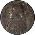 Colonials, (1795) 1/2P Washington North Wales Halfpenny, Two Stars at Each Side of Harp Fine 15 PCGS....