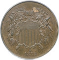 Two Cent Pieces, 1872 2C MS62 Brown PCGS....