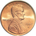 Lincoln Cents, 1984-D 1C MS68 Red PCGS....