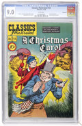 Golden Age (1938-1955):Classics Illustrated, Classics Illustrated #53 A Christmas Carol - First Edition -Vancouver pedigree (Gilberton, 1948) CGC VF/NM 9.0 White pages....