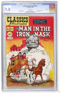 Golden Age (1938-1955):Classics Illustrated, Classics Illustrated #54 The Man in the Iron Mask - First Edition -Vancouver pedigree (Gilberton, 1948) CGC VF/NM 9.0 White p...