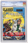 Golden Age (1938-1955):Classics Illustrated, Classics Illustrated #58 The Prairie - First Edition - Vancouverpedigree (Gilberton, 1949) CGC VF/NM 9.0 White pages....