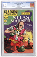 Golden Age (1938-1955):Classics Illustrated, Classics Illustrated #55 Silas Marner - First Edition - Vancouver pedigree (Gilberton, 1949) CGC NM- 9.2 White pages....
