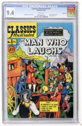 Golden Age (1938-1955):Classics Illustrated, Classics Illustrated #71 The Man Who Laughs - First Edition -Vancouver pedigree (Gilberton, 1950) CGC NM 9.4 White pages....