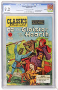 Golden Age (1938-1955):Classics Illustrated, Classics Illustrated #66 Cloister and the Hearth - First Edition -Vancouver pedigree (Gilberton, 1949) CGC NM- 9.2 Off-white ...