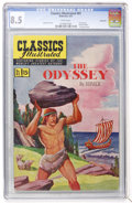 Golden Age (1938-1955):Classics Illustrated, Classics Illustrated #81 The Odyssey - First Edition - Vancouverpedigree (Gilberton, 1951) CGC VF+ 8.5 White pages....
