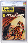 Golden Age (1938-1955):Classics Illustrated, Classics Illustrated #83 Jungle Book - First Edition - Vancouverpedigree (Gilberton, 1951) CGC VF/NM 9.0 White pages....