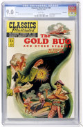 Golden Age (1938-1955):Classics Illustrated, Classics Illustrated #84 The Gold Bug and Other Stories - First Edition - Vancouver pedigree (Gilberton, 1951) CGC VF/NM 9.0 W...