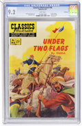 Golden Age (1938-1955):Classics Illustrated, Classics Illustrated #86 Under Two Flags - First Edition -Vancouver pedigree (Gilberton, 1951) CGC NM- 9.2 White pages....