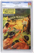 Golden Age (1938-1955):Classics Illustrated, Classics Illustrated #90 Green Mansions - First Edition - Vancouverpedigree (Gilberton, 1951) CGC VF+ 8.5 White pages....