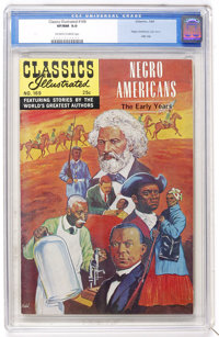 Classics Illustrated #169 Negro Americans: The Early years - First Edition (Gilberton, 1969) CGC VF/NM 9.0 Off-white to...