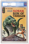 Silver Age (1956-1969):Adventure, Korak, Son of Tarzan #17 (Gold Key, 1967) Condition: CGC 7.0 FN/VF Cream to off-white pages....