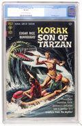 Silver Age (1956-1969):Adventure, Korak, Son of Tarzan #8 (Gold Key, 1965) CGC VF 8.0 Cream tooff-white pages....