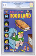 Bronze Age (1970-1979):Humor, Little Lotta Foodland #21 File Copy (Harvey, 1970) CGC NM+ 9.6Off-white pages....