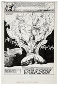 Original Comic Art:Splash Pages, Tony DeZuniga - Arak, Son of Thunder #44 Splash Page 1 Original Art(DC, 1985)....