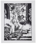 Original Comic Art:Illustrations, Tony DeZuniga - Red Sonja Illustration Original Art (undated)....