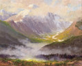 Western:20th Century, PHIL KOOSER (American, 1921-2007). Mountain Magic. Oil on masonite. 24 x 30 inches (61.0 x 76.2 cm). Signed lower right:...