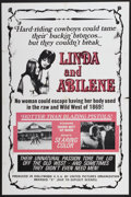 "Movie Posters:Sexploitation, Linda and Abilene (United Pictures Organization, 1969). One Sheet(28"" X 42""). Sexploitation...."
