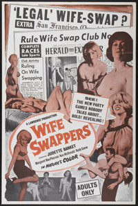 """Wife Swappers (Lawrence, 1960s). One Sheet (28"""" X 42""""). Adult"""
