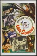 """Movie Posters:Adult, Wife Swappers (William Mishkin Motion Pictures Inc., 1960s). One Sheet (27"""" X 41""""). Adult...."""
