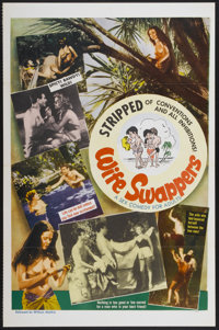 """Wife Swappers (William Mishkin Motion Pictures Inc., 1960s). One Sheet (27"""" X 41""""). Adult"""
