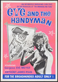 "Movie Posters:Adult, Eve and the Handyman (Pad-Ram Enterprises, 1961). One Sheet (30"" X 42.5""). Adult...."