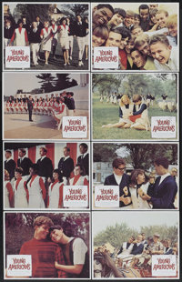 "Young Americans (Columbia, 1967). Lobby Card Set of 8 (11"" X 14""). Documentary.... (Total: 8 Items)"