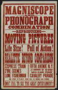 "Movie Posters:Short Subject, The Little Reb (Edison Manufacturing Co., Circa 1900). One Sheet(28"" X 44""). Short Subject...."