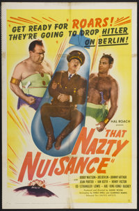 "That Nazty Nuisance (United Artists, 1943). One Sheet (27"" X 41""). Comedy"