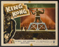 """Movie Posters:Horror, King Kong (RKO, R-1956). Lobby Card (11"""" X 14""""). Horror/Adventure. Starring Fay Wray, Robert Armstrong, Bruce Cabot, Frank R..."""