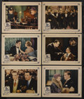 """Movie Posters:Mystery, The 13th Juror (Universal, 1927). Lobby Cards (6) (11"""" X 14"""").Mystery. Starring Anna Q. Nilsson, Francis X. Bushman, Walter...(Total: 6 Items)"""