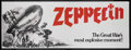 "Movie Posters:War, Zeppelin (Warner Brothers, 1971). Banner (36"" X 94""). WarAdventure. Starring Michael York, Elke Sommer, Peter Carsten,Mari..."
