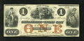 Obsoletes By State:Iowa, Lyons City, IA- Treasurer of Lyons City $1 Oct. 3, 1858. Anendorsement is found on the back of this Very Fine $1 that h...