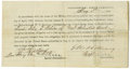 Military & Patriotic:Civil War, Parole of Confederate Private Felix P. Webster of 'General Johnston's Escort'; Private Felix P. Webster was member of a litt...
