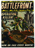 Golden Age (1938-1955):War, Battlefront #1 (Atlas, 1952) Condition: FN....