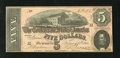 Confederate Notes:1864 Issues, T69 $5 1864. This is an attractive $5 that has counting crinkle. Crisp Uncirculated....