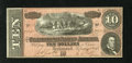 Confederate Notes:1864 Issues, T68 $10 1864. This 7 Series note is of the darker red tint variety. Choice Crisp Uncirculated....