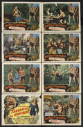 "Movie Posters:Adventure, Tarzan and the Huntress (RKO, 1947). Lobby Card Set of 8 (11"" X14""). Action Adventure. Starring Johnny Weissmuller, Brenda ...(Total: 8 Items)"