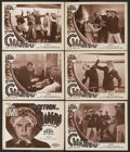 "Movie Posters:Serial, The Return of Chandu (Principal Distributing, 1934). Title Lobby Card (11"" X 14"") and Lobby Cards (5) (11"" X 14"") Episode 3 ... (Total: 6 Items)"