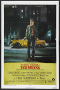 "Movie Posters:Crime, Taxi Driver (Columbia, 1976). One Sheet (27"" X 41""). Drama.Starring Robert De Niro, Cybill Shepherd, Peter Boyle, Jodie Fos..."