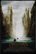 """Movie Posters:Fantasy, The Lord of the Rings: The Fellowship of the Ring (New Line, 2001).One Sheet (27"""" X 41"""") Advance. Fantasy Adventure. Starri..."""
