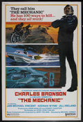 "Movie Posters:Action, The Mechanic (United Artists, 1972). Poster (40"" X 60""). Crime.Starring Charles Bronson, Jan-Michael Vincent, Keenan Wynn a..."
