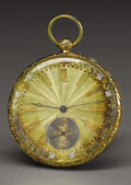 Military & Patriotic:Civil War, Gold Pocket Watch Presented to President Franklin Pierce by Jefferson Davis. Jefferson Davis, the future president of the Co...